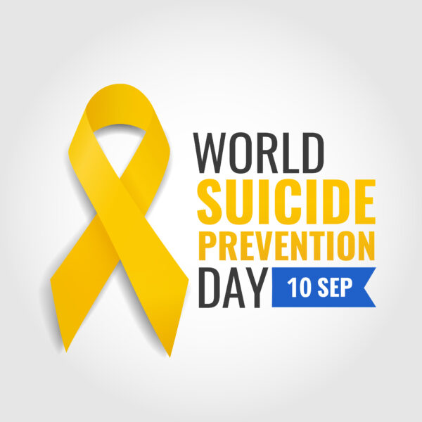 World Suicide Prevention day banner with logo